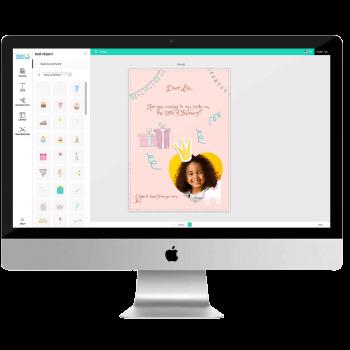 ontwerpen in de online editor