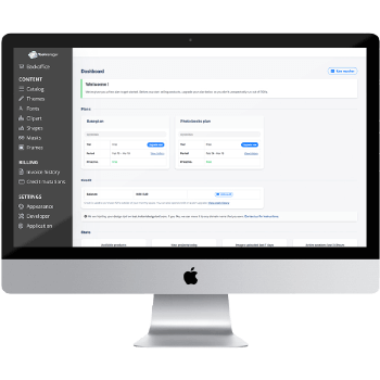 Dashboard online editor